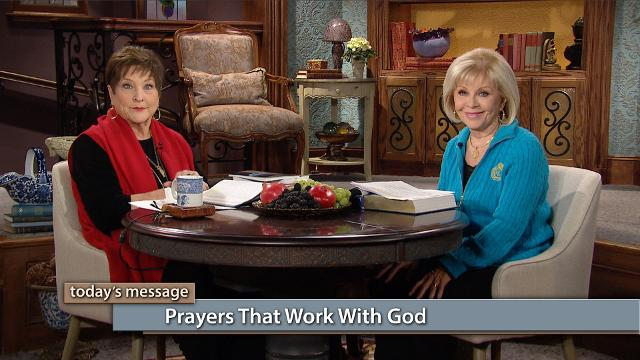 You can live in constant contact with God! Watch Gloria Copeland and Billye Brim on Believer's Voice of Victory as they relate how you have a purpose in prayer—to use your words to confess, pray and cooperate with God. Ask, believe and receive—those are the prayers that work with God!