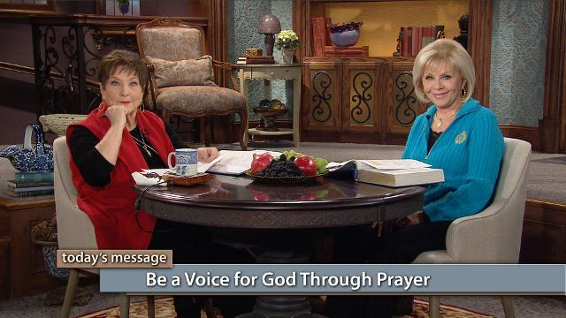 You have a voice and a choice! Watch Gloria Copeland and Billye Brim on Believer's Voice of Victory discuss how we were created to be a voice for God through prayer. When we pray for nations and awakenings, in tongues, we are doing what we were created to do—to work with and be a voice for God through prayer!