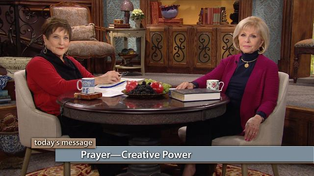 The Holy Spirit will ignite creative words in your mouth! Watch Gloria Copeland and Billye Brim on Believer's Voice of Victory share how speaking creates either good or evil. Prayer is creative power that brings the things of God to pass in your life!