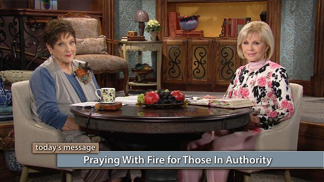 The devil is trying to divide us racially and politically—but releasing the firepower of prayer can stop him in his tracks! Watch Gloria Copeland and Billye Brim on Believer's Voice of Victory discuss how whatever takes place in a nation is because the Church has allowed it to happen. Praying with fire for those in authority will change the course of any nation!