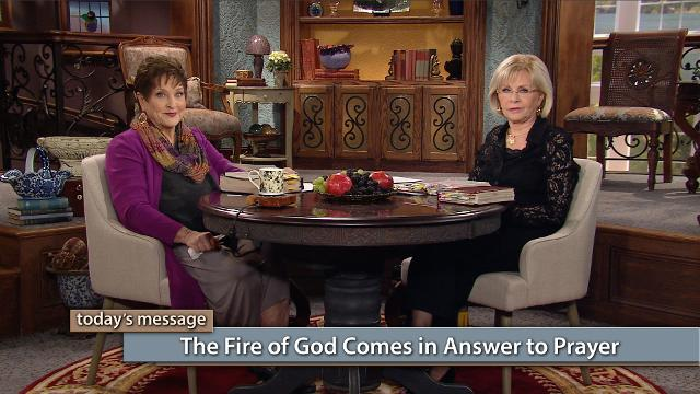 Are you ready to be like Elijah and bring the fire of God to earth through prayer? Watch Gloria Copeland and Billye Brim on Believer's Voice of Victory explain how the fire of God comes in answer to prayer. The fire of God is available to us through prayer, and we can bring revival to our nation!