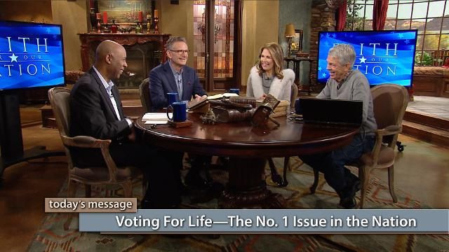 "Why is voting for life the No.1 issue in the nation? God has given everyone a right to life. In this episode of Believer's Voice of Victory, George Pearsons, Michele Bachmann, David Barton and Keith Butler discuss abortion from God's perspective and the importance of voting for life. Don't miss this first episode in the new series, Faith for Our Nation—Vote Special.To watch the additional content, click here or go to: kcm.org/votingspecialTo download Pastor George Pearsons' notes ""Where Do You Stand – The Political Platforms"", click here or go to: emic.org/platforms"