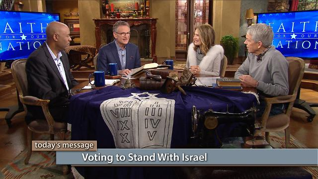 "Should we be voting for politicians who stand with Israel? Yes! In this episode of Believer's Voice of Victory, George Pearsons, Michele Bachmann, David Barton and Keith Butler discuss why Israel is so important to God and the future of America. Tune in to the third episode of Faith for Our Nation—Vote Special.To watch the additional content, click here or go to: kcm.org/votingspecialTo download Pastor George Pearsons' notes ""Where Do You Stand – The Political Platforms"", click here or go to: emic.org/platforms"