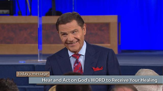 It's not enough to hear God's WORD. You must also act on that WORD. In the final episode of this series on Believer's Voice of Victory, Kenneth Copeland teaches you how to stir up your faith and take authority over sickness and disease. Get ready to receive your healing by faith!