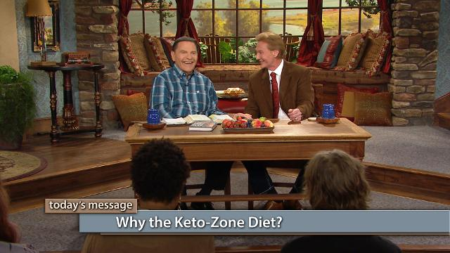 Why the Keto Zone Diet? Watch Kenneth Copeland and Dr. Don Colbert on Believer's Voice of Victory as they unpack the Keto Zone Diet, how to follow it and why it works. You can eat your way to better health simply by understanding the Keto Zone Diet. Begin living a Keto Zone lifestyle today!