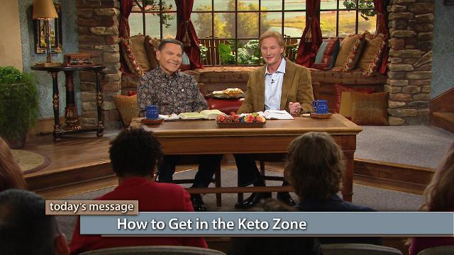 Watch Kenneth Copeland and Dr. Don Colbert on Believer's Voice of Victory as they explain the basics of how to get in the keto zone to optimize cognition and improve energy levels. Learn the hows and whys of this groundbreaking lifestyle, and how to take victory over food for good!