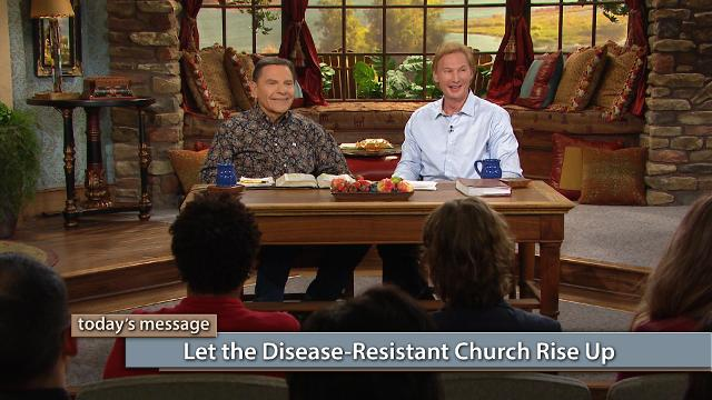 Let the disease-resistant Church rise up and be strong! Watch Kenneth Copeland and Dr. Don Colbert on Believer's Voice of Victory as they discuss the importance of speaking The WORD of God and choosing to break the power of the flesh. We don't need to fight disease—it's time for the Church to become disease-resistant!