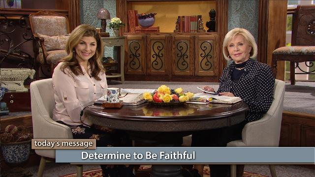 Jesus and the Word of God are one, so the Bible becomes so much more valuable and vital when you determine to be faithful and get into His presence every day. Watch Gloria Copeland and Kellie Copeland on Believer's Voice of Victory to learn how your life can become a picture of God's faithfulness as you grow in your devotion to Him.