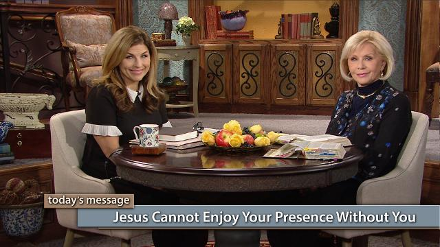 The Lord is going to see His plan fulfilled; will you join Him? Watch Gloria Copeland and Kellie Copeland on Believer's Voice of Victory as they explore how God's ability to perfect us is a direct result of our dedication and devotion to Him. Jesus cannot enjoy your presence without you!