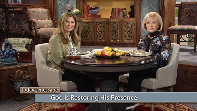 God is restoring His presence on the earth! Since the beginning of time, God has desired to raise up a family to walk in step with Him. Watch Gloria Copeland and Kellie Copeland on Believer's Voice of Victory to hear how your life can be hidden, directed and perfected by time spent at the feet of Jesus.