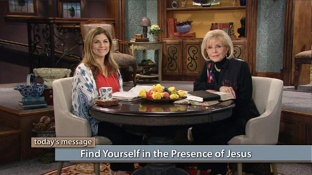 Jesus desires to be our Savior every moment of every day. Watch Gloria Copeland and Kellie Copeland on Believer's Voice of Victory explain how His precious fellowship can be your refuge and your fortress of blessing, safety and salvation. You will find yourself in the presence of Jesus!