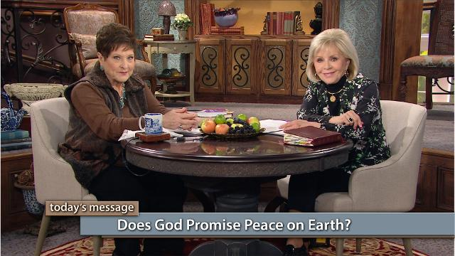 Jesus is coming soon! Watch Gloria Copeland and Billye Brim on Believer's Voice of Victory as they explore God's definition of peace versus man's definition. Learn the answer to the question: Does God promise peace on earth?