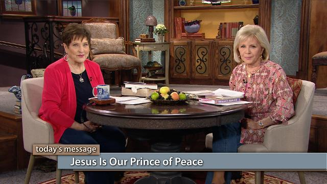 You have peace with God because of Jesus! Watch Gloria Copeland and Billye Brim on Believer's Voice of Victory share how Jesus came to bring peace and wholeness to your spirit, soul and body. Jesus is our Prince of Peace!