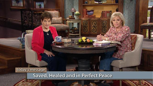 Do you want to live in perfect peace? You can! Watch Gloria Copeland and Billye Brim on Believer's Voice of Victory as they discuss how perfect peace comes from wholeness in every area of your life. You can be saved, healed and in perfect peace!