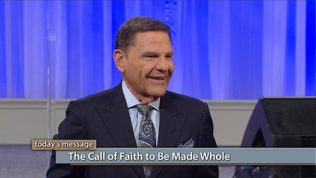 Today on Believer's Voice of Victory, Kenneth Copeland unveils the key to being made whole in response to the call of faith. The woman with the issue of blood reached out to Jesus and was made whole. How? Don't miss this powerful story of one woman's faith to find out!