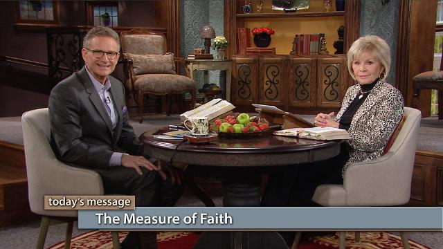 "Romans 12:3 tells us that God has given everyone ""the measure of faith."" What does that mean, and how can you have the full measure of faith? Gloria Copeland and George Pearsons answer these questions and more on this episode of Believer's Voice of Victory. Don't miss it!"