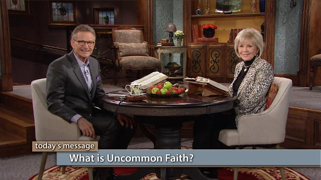 You can develop the faith you need to do the impossible! In this episode of Believer's Voice of Victory, Gloria Copeland and George Pearsons teach you how. What is uncommon faith? No matter what God has called you to or what godly desires He has placed in you, uncommon faith is what you need to accomplish them.