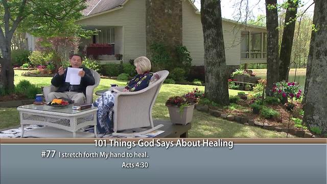 Watch Kenneth and Gloria Copeland on Believer's Voice of Victory as they share 101 things God says about healing. Learn how grace provided healing, but faith appropriates healing. Sickness is satanic bondage, and you should be loosed today!