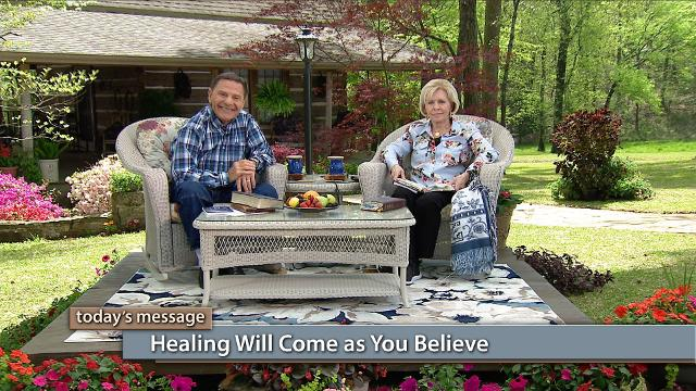 Watch Kenneth and Gloria Copeland on Believer's Voice of Victory as they share how believing it is God's will for you to be well is the key to receiving by faith. Learn how to know God is not the creator of sickness or disease. Jesus is your Healer, and healing will come as you believe.