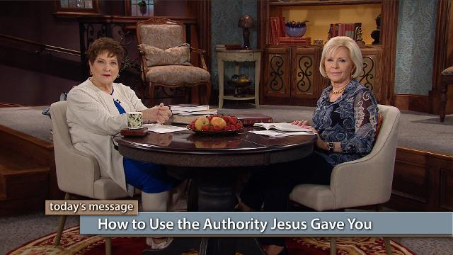 Join Gloria Copeland and Billye Brim today on Believer's Voice of Victory and continue learning how to utilize spiritual weapons of warfare to defeat every attack from the enemy. Learn more about how to use the authority Jesus gave you to overcome evil. There is power in the Name of Jesus and in His blood!