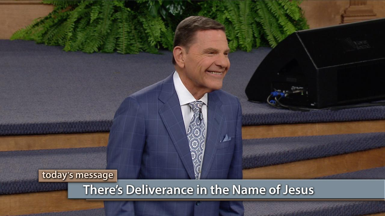 There's deliverance in the Name of Jesus! Watch Kenneth Copeland on the Believer's Voice of Victory broadcast as he reveals the supernatural power in the Name of Jesus that belongs to every believer. Learn how to take your authority over every deadly thing, and be totally delivered by that Name!