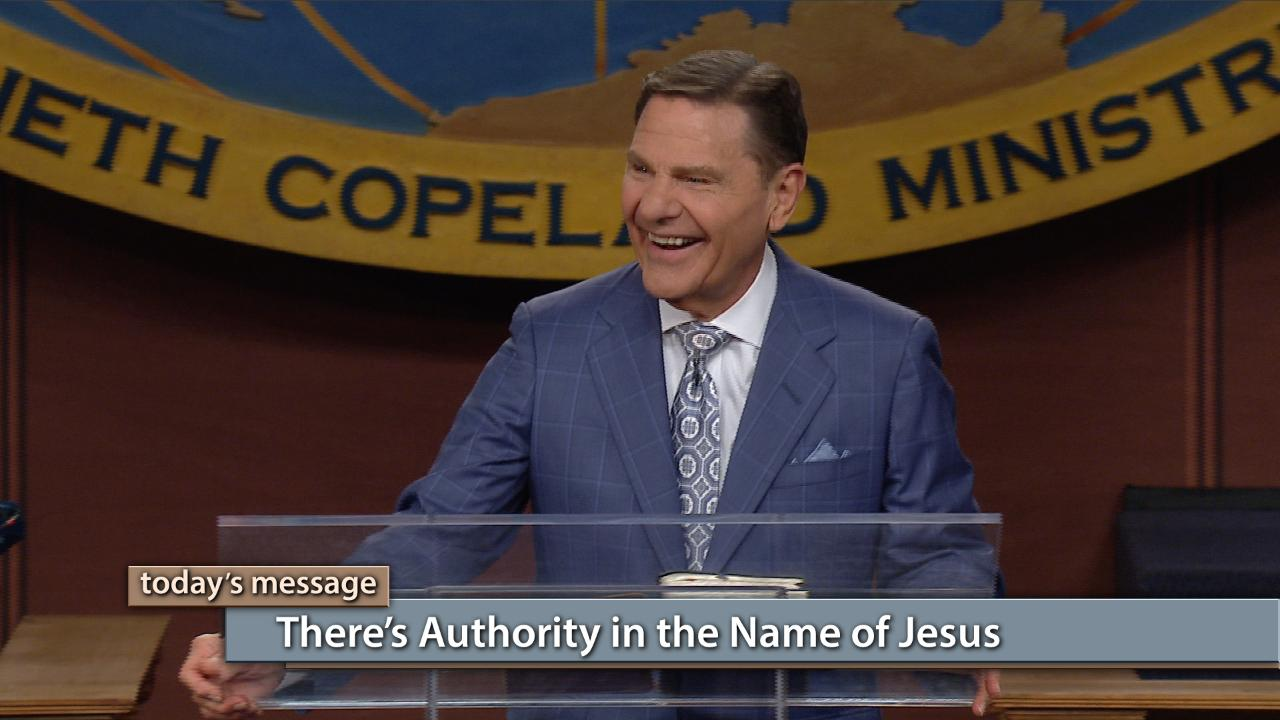 Jesus has given you the keys of authority that will unlock every door in your life! Today on the Believer's Voice of Victory broadcast, Kenneth Copeland discusses the authority we've been given by Jesus. Learn how to use that Name to cast all darkness out of your life. There's authority in the Name of Jesus!