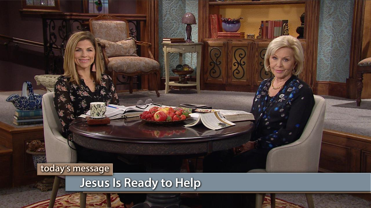 """Jesus is our great invitation to the kingdom of God. Watch Gloria Copeland and Kellie Copeland on Believer's Voice of Victory and learn how to go to the """"pantry"""" of God's kingdom for your daily needs. Jesus is ready to help you with everything you need!"""