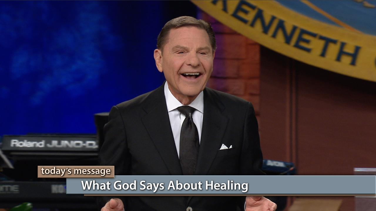 In today's episode of Believer's Voice of Victory, Kenneth Copeland begins exploring what God said about healing directly from the Bible. Starting in the Old Testament, he reviews 25 scriptures that will build your faith to receive healing. God is still the Healer today, so tune in and be healed!