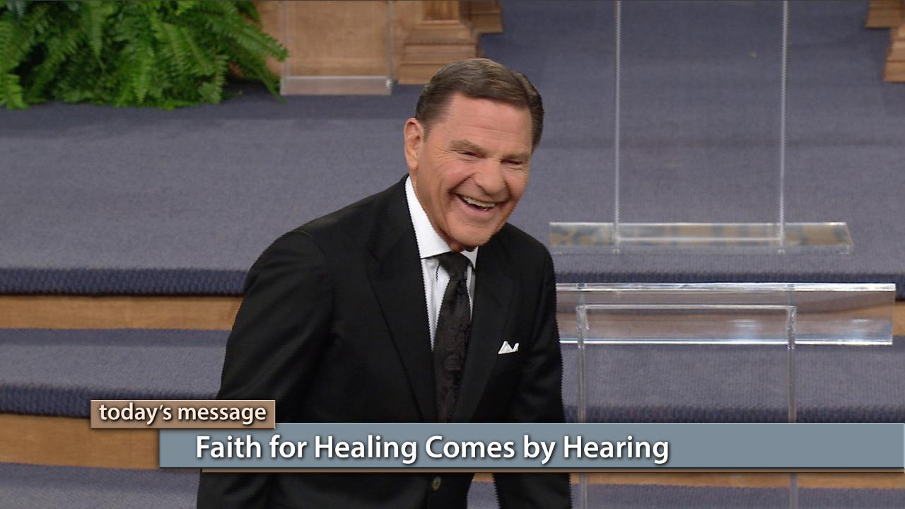Faith for healing comes by hearing and hearing by The WORD of God! Watch and listen to this episode of Believer's Voice of Victory as Kenneth Copeland continues sharing more things God said that will build your faith for healing. If you can believe, you can receive your healing!