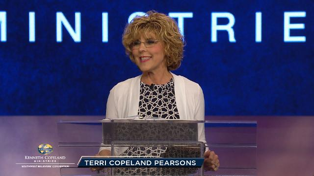 Join Terri Copeland Pearsons as she shares the drawing power of corporate prayer during this pre-service prayer session at the 2018 Southwest Believers' Convention. Watch and discover how devotion and unity of prayer bring revelation of God's Word and massive moves of God.
