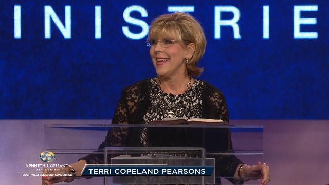 Join Terri Copeland Pearsons as she continues teaching about corporate and intercessory prayer in this pre-service prayer session at the 2018 Southwest Believers' Convention. Watch and discover the place in prayer where you work with God to ensure that His will be done on earth as it is in heaven for the future.