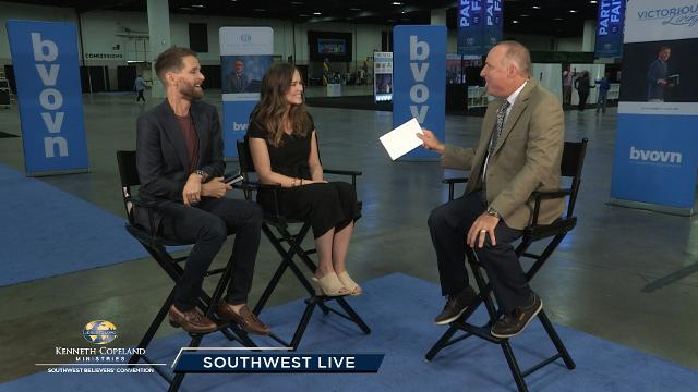 Watch Tim Fox and Greg Stephens as they interview backstage Jeremy and Sarah Pearsons and others at the Saturday evening session of the 2018 Southwest Believers' Convention.