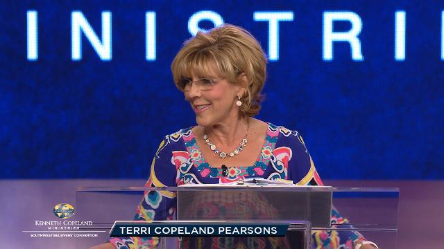 Join Terri Copeland Pearsons at this final pre-service prayer session of the 2018 Southwest Believers' Convention as she shares how the power of God will change our nation. Join your faith with fellow believers for a move of God upon our nation's leaders and policies.