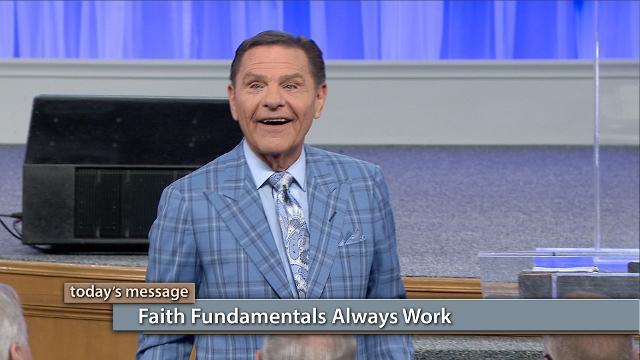 "Watch Kenneth Copeland on Believer's Voice of Victory explain why faith fundamentals always work—it's spiritual law! Learn why the ABCs—believe it, speak it, act on it—are a lifestyle you can aspire to. To become a champion of faith you must practice, practice, practice!Click here to watch Pastor Greg Stephens video ""THE BLESSING Is Written on Our Hearts""!"