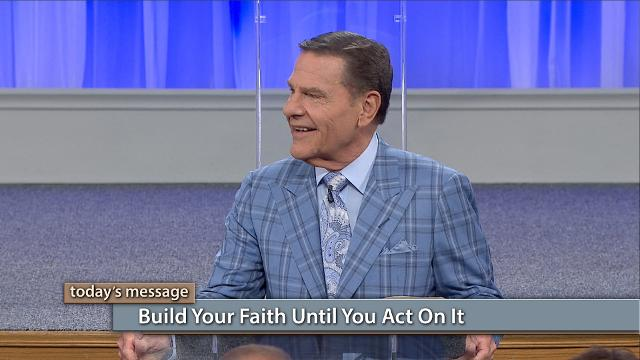 "Believing without acting isn't true faith! Watch Kenneth Copeland on Believer's Voice of Victory as he uncovers how fully developed faith will always lead to corresponding action. Learn how to build your faith until you act on it!Click here to watch Pastor Greg Stephens video ""THE BLESSING Is Written on Our Hearts""!"