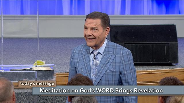 "Seeing is believing won't work in the faith world! Watch Kenneth Copeland on Believer's Voice of Victory share how The WORD of God is pregnant with revelation meant to go directly from the Holy Spirit to your spirit. Learn how to build your faith database by spending consistent time in The WORD of God. Meditation on God's WORD brings revelation!Click here to watch Pastor Greg Stephens video ""THE BLESSING Is Written on Our Hearts""!"