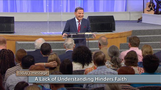 Watch Kenneth Copeland on Believer's Voice of Victory as he explains how a full revelation of who you are in Christ is essential to operating in full-powered faith. Learn why a lack of understanding hinders faith, and how understanding what it means to be a new creation will break through every barrier!