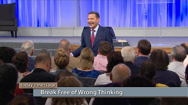 Is your faith being hindered by wrong thinking? Watch Kenneth Copeland on Believer's Voice of Victory as he explains how you can break free of wrong thinking by learning to receive the free gift of right-standing with God. Learn how to stop trying to earn it and just take it!