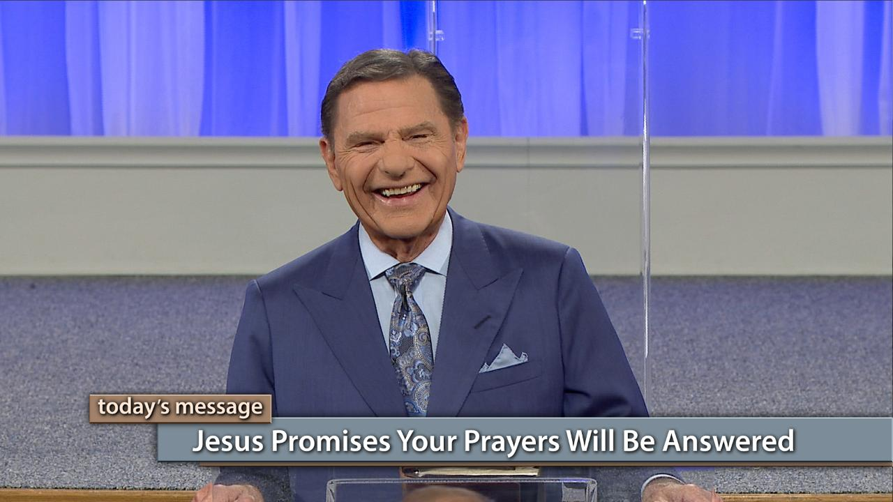 Watch Kenneth Copeland on Believer's Voice of Victory as he lays the scriptural foundation for prayer that brings results. Jesus promises that your prayers will be answered when you abide in Him and His words abide in you (John 15:7). In this episode, you will learn how God has provided the covenant right for you to receive your prayers answered, but it's up to you to be obedient!