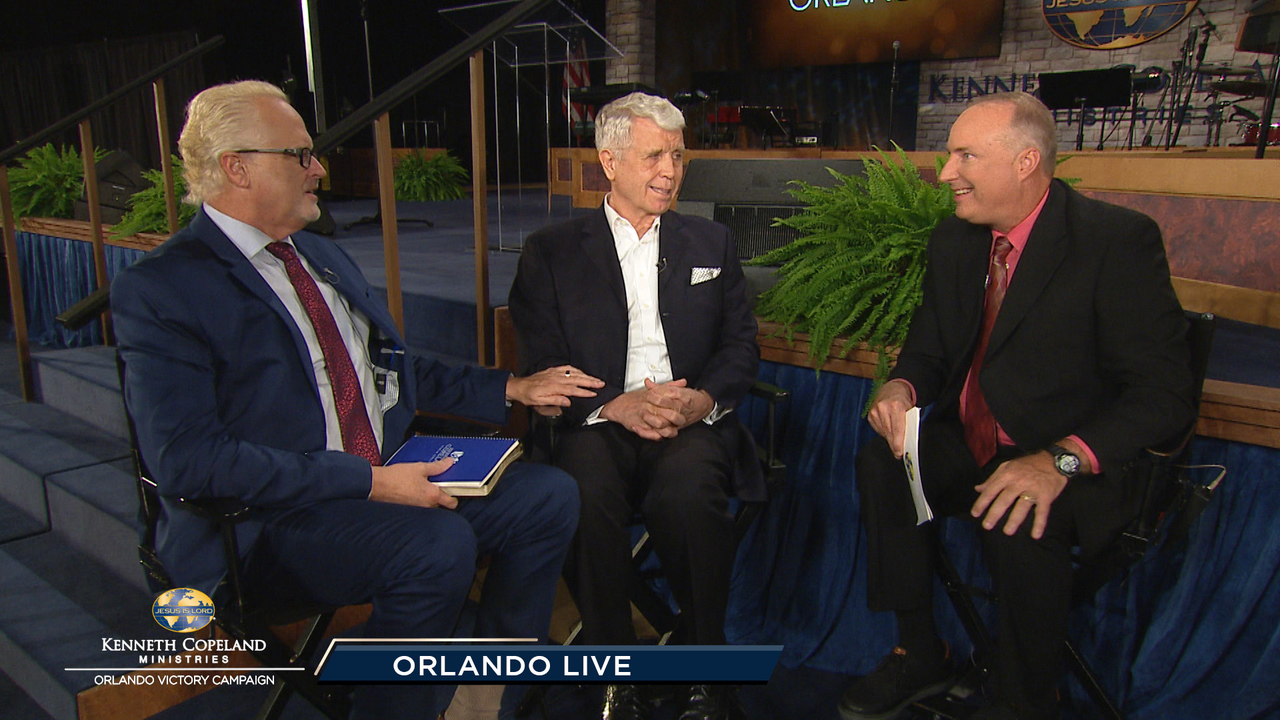 Hear more backstage interviews with Tim Fox. Gene Bailey and David Palmquist at the Friday evening session of Orlando Backstage during the 2018 Orlando Victory Campaign.