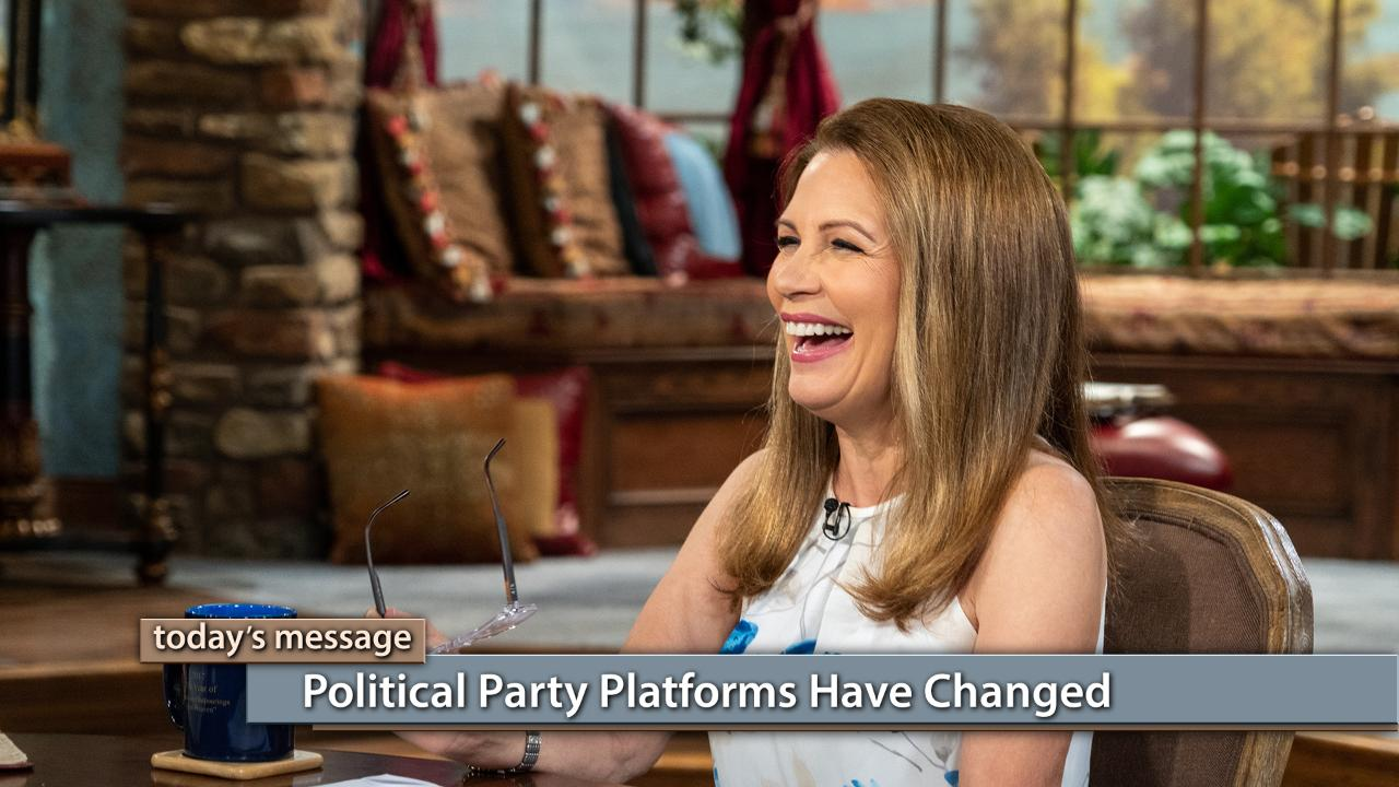 Watch George Pearsons, Buddy Pilgrim and Michele Bachmann on Believer's Voice of Victory as they explain how the Republican and Democratic Party platforms have changed in recent years. Learn what they stand for today and how to be sure your vote lines up with the Word of God.