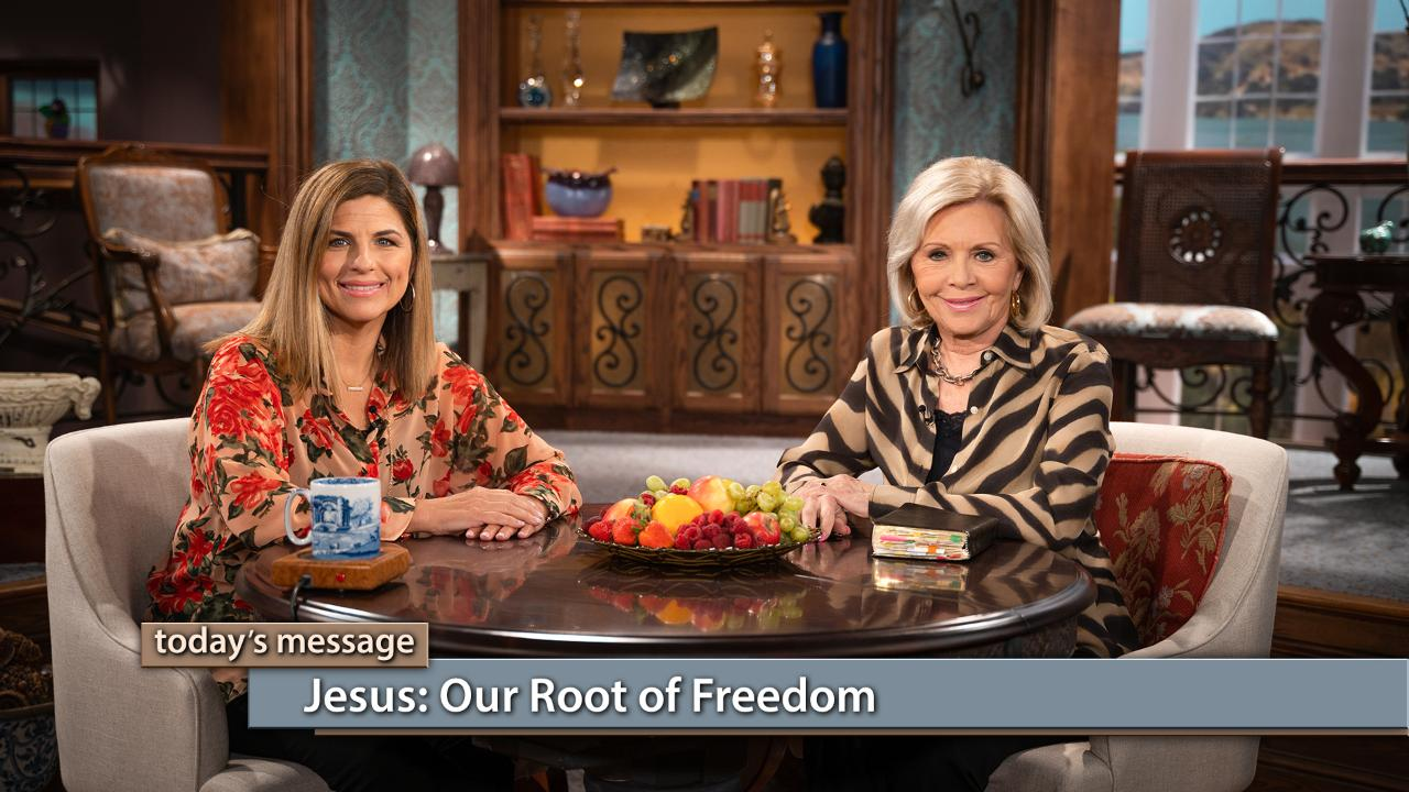 The righteousness of God has been bought and paid for by Christ Jesus, but you have to take it and allow it a place to grow in your heart. Watch Gloria Copeland and Kellie Copeland on Believer's Voice of Victory, to hear how Jesus' words always win every battle against sin. Jesus is our root of freedom!To watch The Kellie and Jerri Show or to learn more about the program, click here.