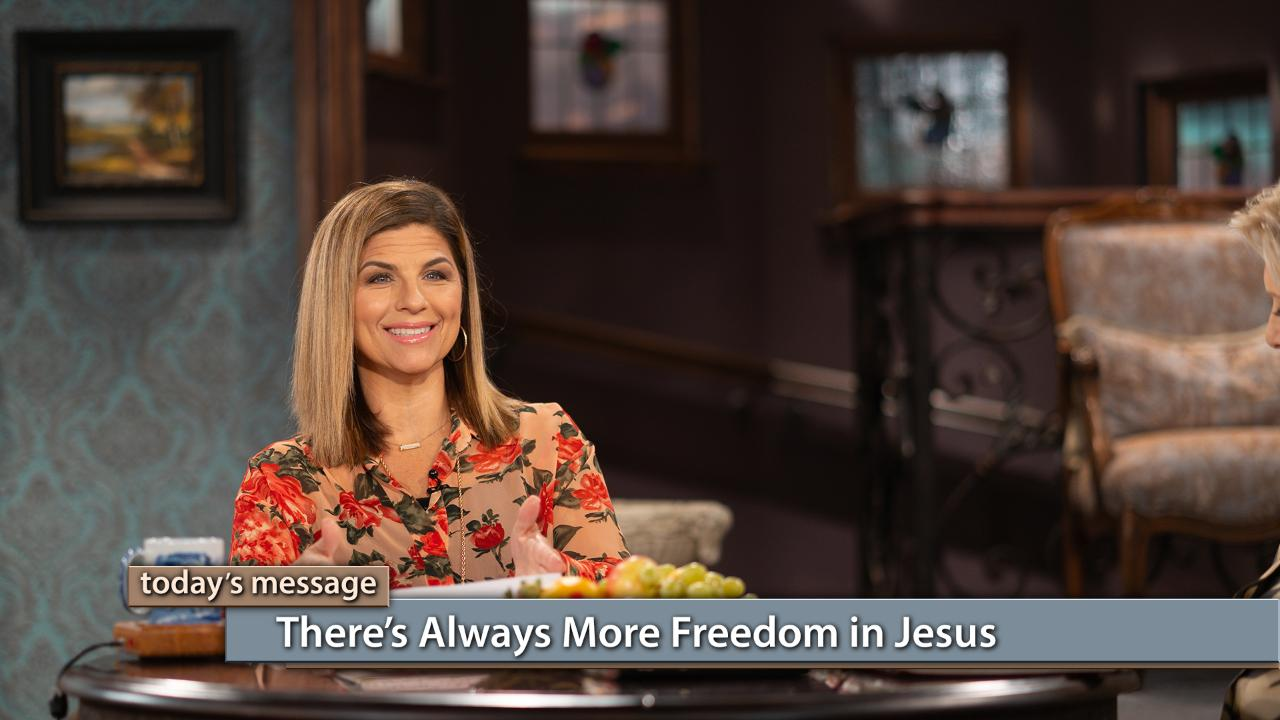 Jesus has a path of freedom for all of us! He searches out every heart, and He gives us a process of freedom. Watch Gloria Copeland and Kellie Copeland on Believer's Voice of Victory to hear how communion with Jesus drives out sin and the lies of the enemy. There's always more freedom in Jesus!To watch The Kellie and Jerri Show or to learn more about the program, click here.