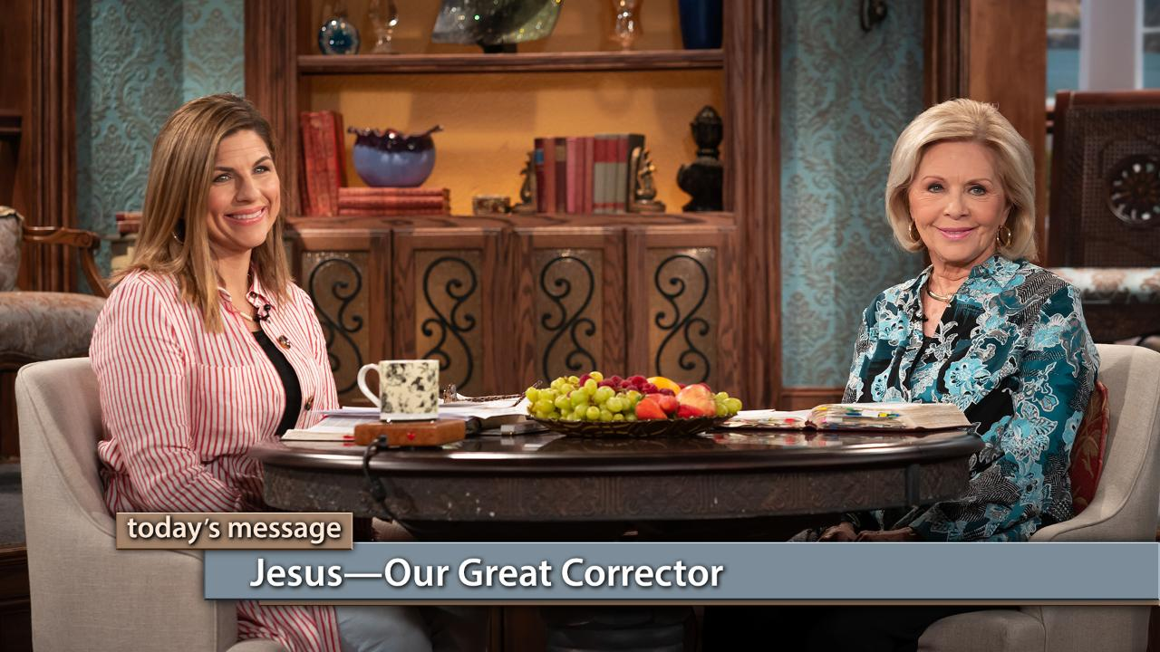 Have you ever considered Jesus as our Great Corrector? God's correction is one of the greatest blessings because it brings freedom. Join Gloria Copeland and Kellie Copeland on Believer's Voice of Victory and dig in to purposefully receive Jesus' cleansing power throughout your soul.To watch The Kellie and Jerri Show or to learn more about the program, click here.