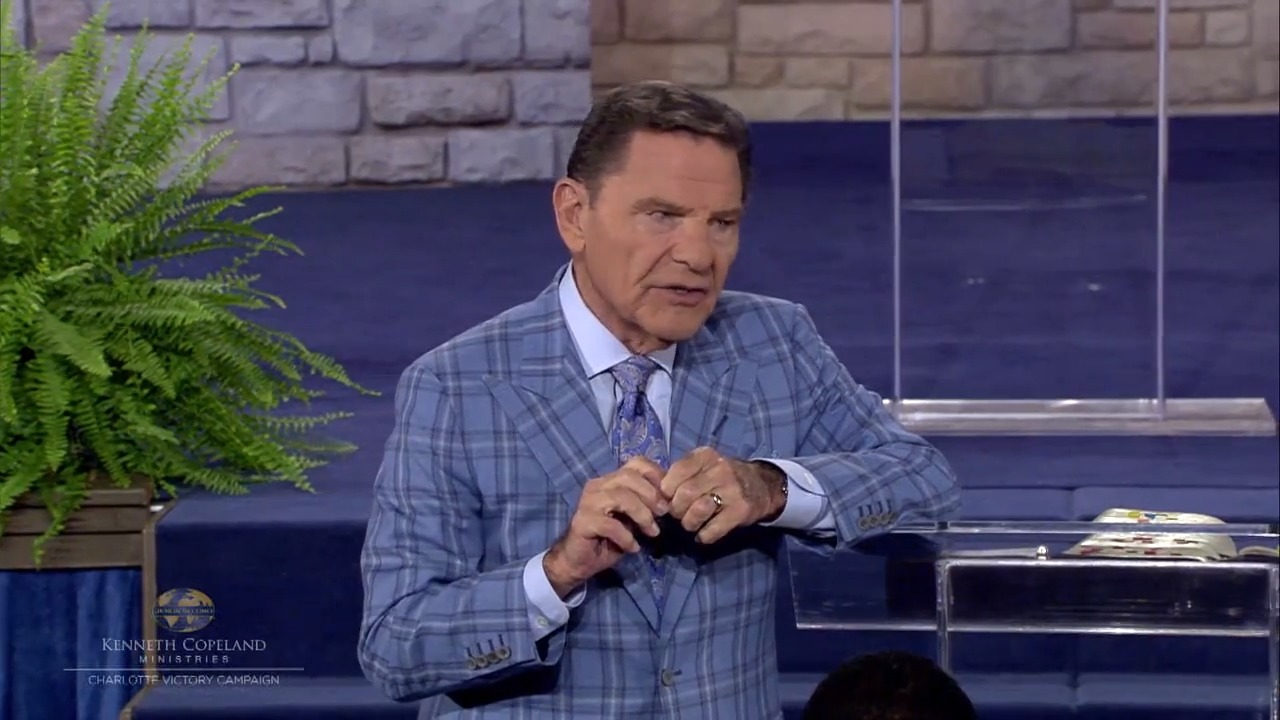 Jesus became sin to make us righteous. Now we are seated with Him and can come boldly to the throne of grace—the great exchange! We have His Anointing to preach, teach and heal. In this 2018 Charlotte Victory Campaign session, Kenneth Copeland shares about the Anointing and its ties to partnership.