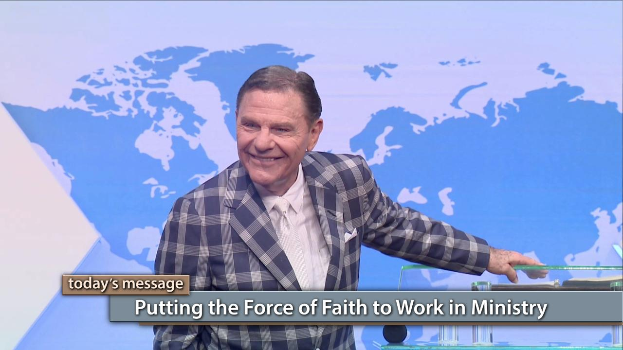 You can experience ever-increasing, spiritual impact in ministry to the highest degree when you understand the force of faith. Today on Believer's Voice of Victory, Kenneth Copeland unfolds the blueprint of effective ministry and the steps to seeing your vision for service to God's people fulfilled. Discover how putting the force of faith to work is the key to sustaining impact in ministry!Click here to watch the full messages of the 2018 Nigeria Ministers' Conference!