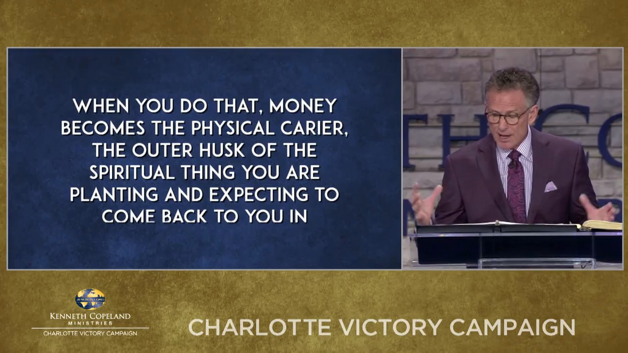 Join Pastor George Pearsons as he teaches a message on naming your financial offering for what you're believing for. Hear more details during the 2018 Charlotte Victory Campaign.