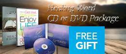Healing Word CD or DVD Package