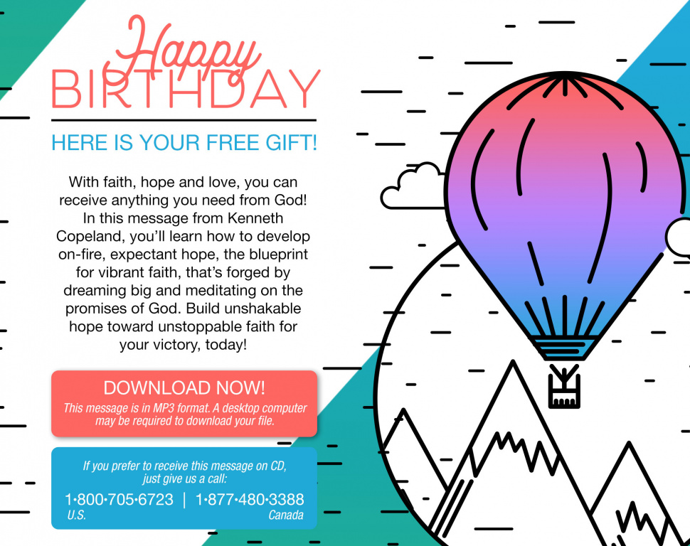 Download Your Free Birthday Gift