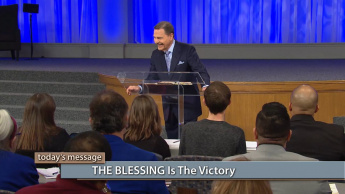 THE BLESSING Is the Victory